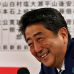 Conservatives relish Abe's election success