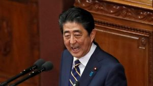 China unimpressed by Abe's WWII commemoration speech